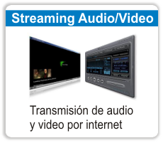 streaming de audio y video